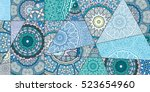 Vector Patchwork Pattern....