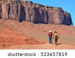 Cowboy At Monument Valley...
