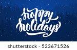 vector illustration ... | Shutterstock .eps vector #523671526