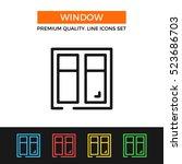 vector window icon. premium...