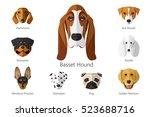 Vector Illustration Of Dog...