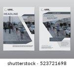 cover design brochures  vector... | Shutterstock .eps vector #523721698