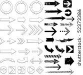 arrow designs | Shutterstock .eps vector #52373386