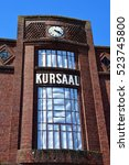 Small photo of Gournay en Bray, France - september 7 2016 : the Kursaal in the city center