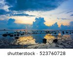 Low Tide Rocky Beach Seaside I...
