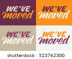 handwritten inscription we have ... | Shutterstock .eps vector #523762300