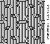 vector seamless pattern. modern ... | Shutterstock .eps vector #523768516
