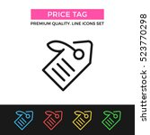 vector price tag icon. premium...
