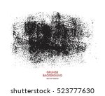 grunge paint texture. distress... | Shutterstock .eps vector #523777630