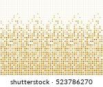 random dots background ... | Shutterstock .eps vector #523786270