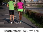 healthy young multiethnic... | Shutterstock . vector #523794478