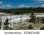 norris geyser basin ...   Shutterstock . vector #523812430