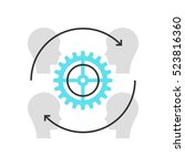 color box icon  customer... | Shutterstock .eps vector #523816360