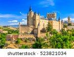 Segovia  Spain. The Alcazar Of...