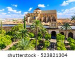 cordoba  spain. the mezquita... | Shutterstock . vector #523821304
