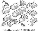 illustration of info graphic... | Shutterstock .eps vector #523839568