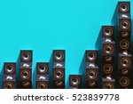 stylish equalizer from the... | Shutterstock . vector #523839778
