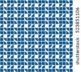 abstract blue background.   Shutterstock .eps vector #523851106