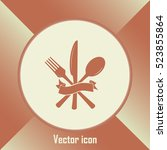 vector illustration sign with... | Shutterstock .eps vector #523855864