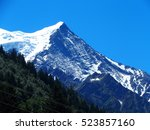 Beautiful Mont Blanc Massif In...
