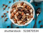 nourishing and delicious... | Shutterstock . vector #523870534
