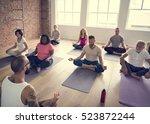 exercise international group...   Shutterstock . vector #523872244