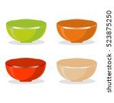 abstract vector illustration of ... | Shutterstock .eps vector #523875250