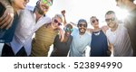 group of people hugging concept | Shutterstock . vector #523894990