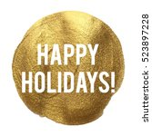 Happy Holidays Golden Circle...