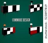 commode icon  commode design... | Shutterstock .eps vector #523897819