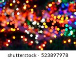 Beautiful Colorful Bokeh Of Th...