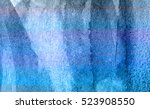 blue abstract grunge texture... | Shutterstock . vector #523908550