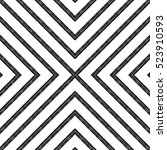 geometric seamless pattern of... | Shutterstock .eps vector #523910593