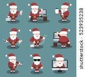collection of vector cartoon...   Shutterstock .eps vector #523935238