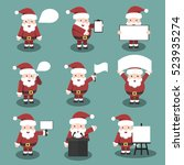 collection of vector cartoon...   Shutterstock .eps vector #523935274