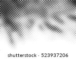 halftone dots pattern .... | Shutterstock .eps vector #523937206
