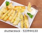 Baked Parmesan Potato Wedges....