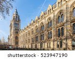natural history museum in... | Shutterstock . vector #523947190