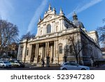 vistoria and albert museum in... | Shutterstock . vector #523947280