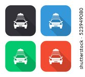 car wash vector icon   colored... | Shutterstock .eps vector #523949080