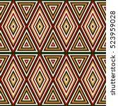 seamless pattern in christmas...   Shutterstock .eps vector #523959028