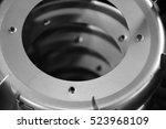 blower parts produced by sheet... | Shutterstock . vector #523968109