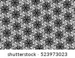 picture with black and white... | Shutterstock . vector #523973023