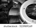 blower parts produced by sheet... | Shutterstock . vector #523989169