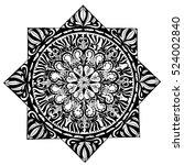illustrations of mandala 4 | Shutterstock .eps vector #524002840