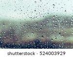 Raining On The Glass Off Windo...