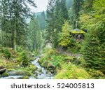 triberg waterfalls and... | Shutterstock . vector #524005813