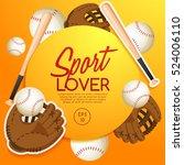sport lover   sport equipment...   Shutterstock .eps vector #524006110