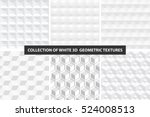 decorative white seamless... | Shutterstock .eps vector #524008513
