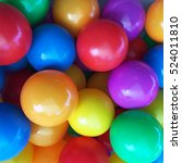 Colorful Balls For Children